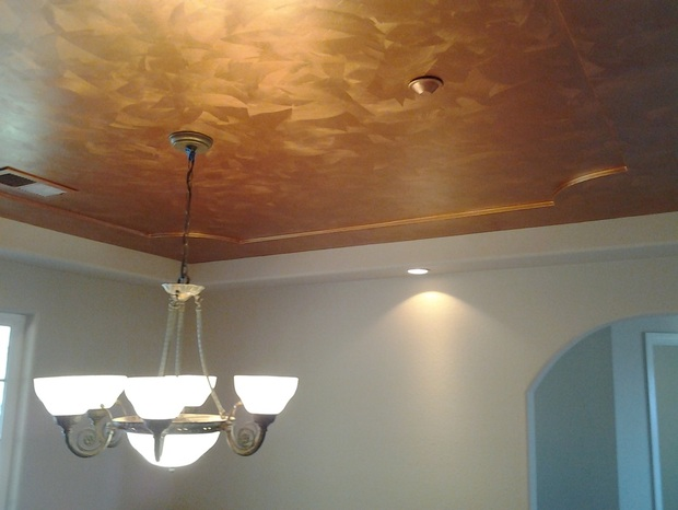 metallic paint colors for wallsHow to Paint a Brushed Copper Metallic Faux Finish  Faux Finish